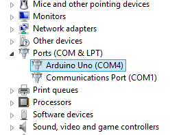 Arduino Device Manager